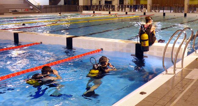 Exocet Léman plongée - L'entraînement
